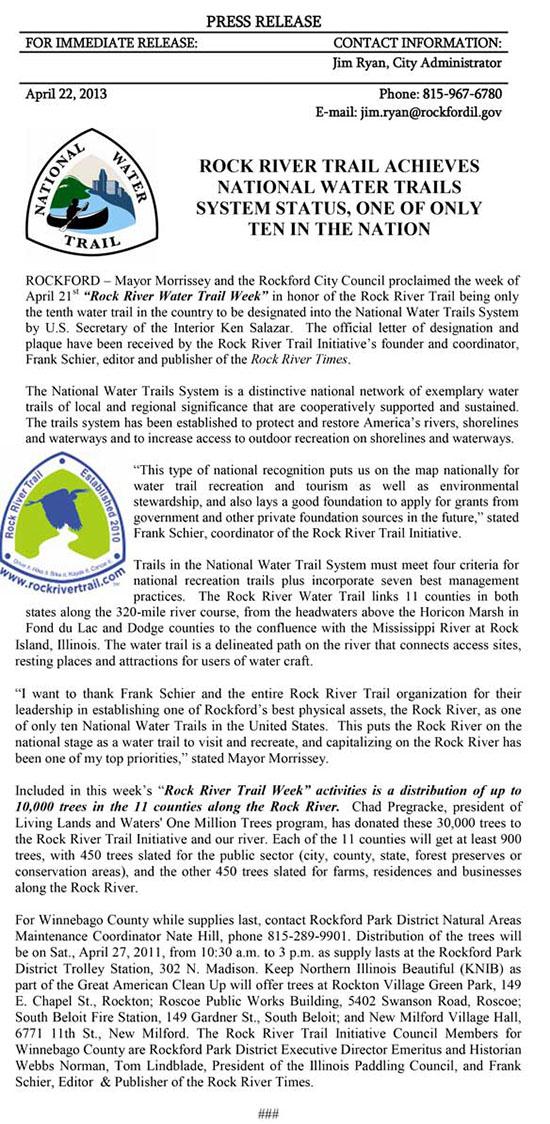 water_trail_press_release