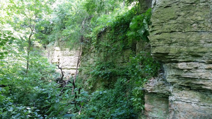 Devils Staircase Rock River Trail Ice Age Trail Janesville Wisconsin (3)