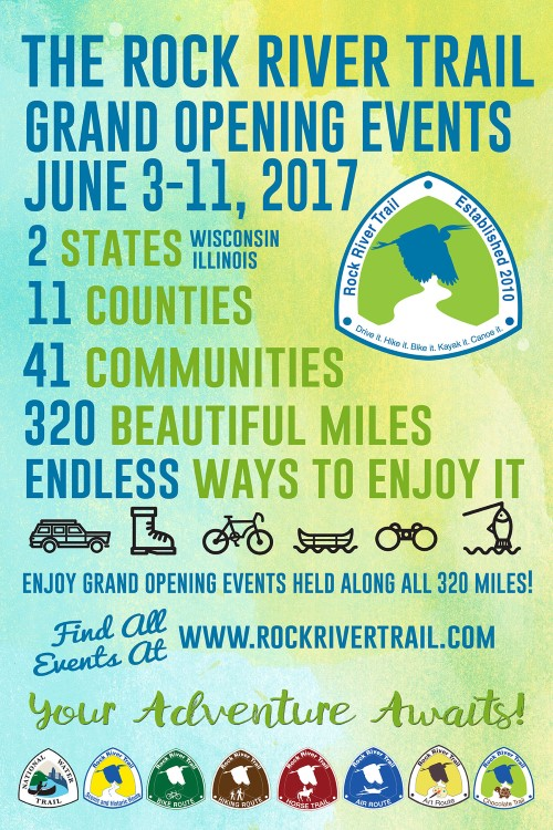 Paddle on the Rock in Jefferson County - Rock River Trail Grand Opening Event @ Kaul Park | Ixonia | Wisconsin | United States