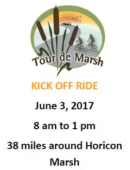 Tour de Marsh Kick-off Ride at Horicon Marsh - Rock River Trail Grand Opening Event @ Various Locations  | Horicon | Wisconsin | United States